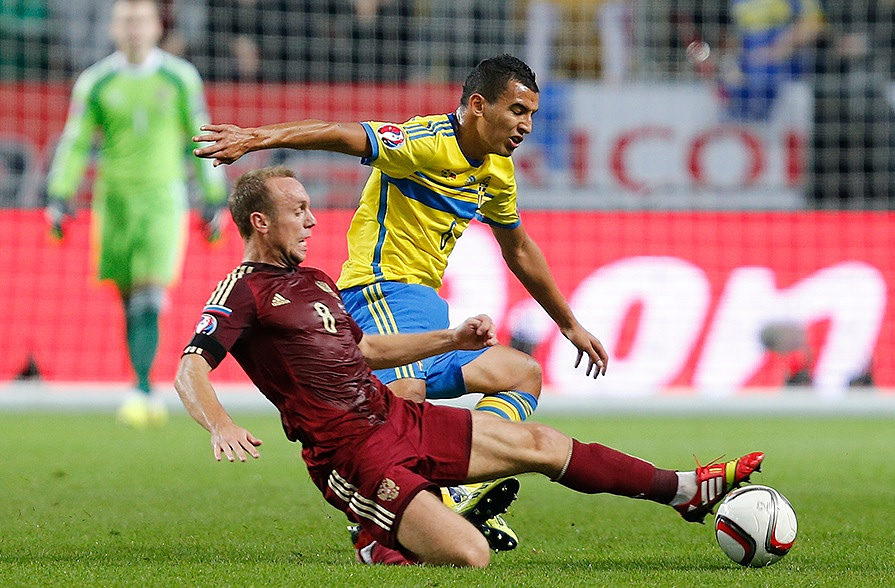В матче между россиянами и шведами было много упорной борьбы. Итог - результативная ничья