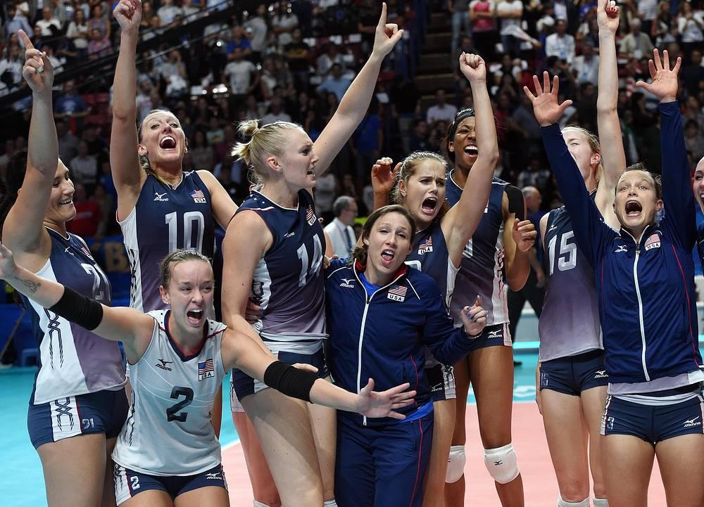 Женская сборная США впервые в своей истории выиграла чемпионат мира