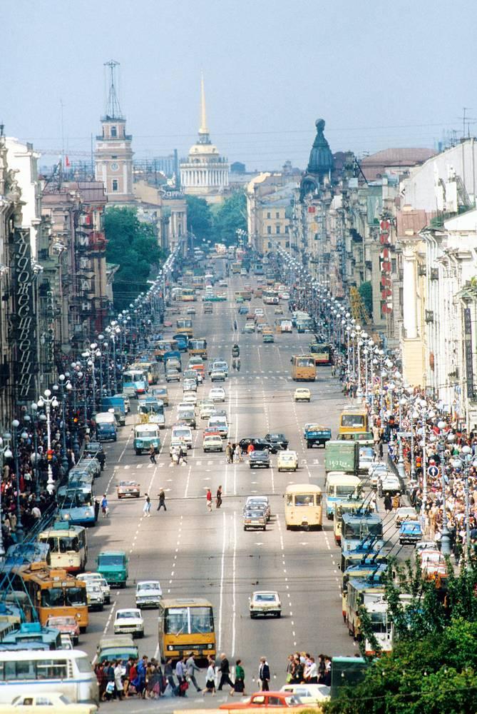 Невский проспект,1984 год