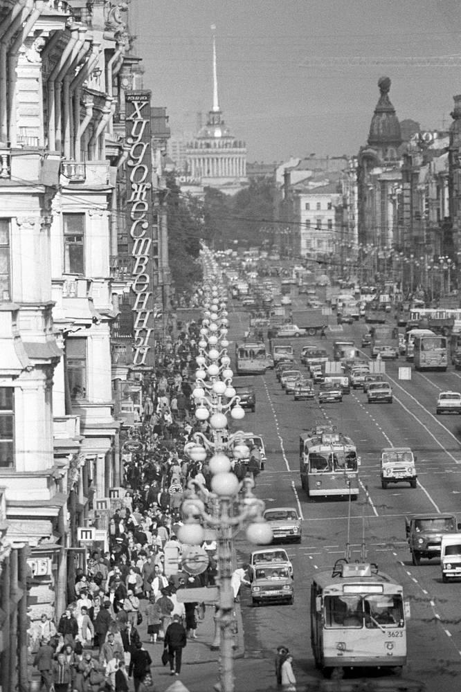 Невский проспект,1990 год
