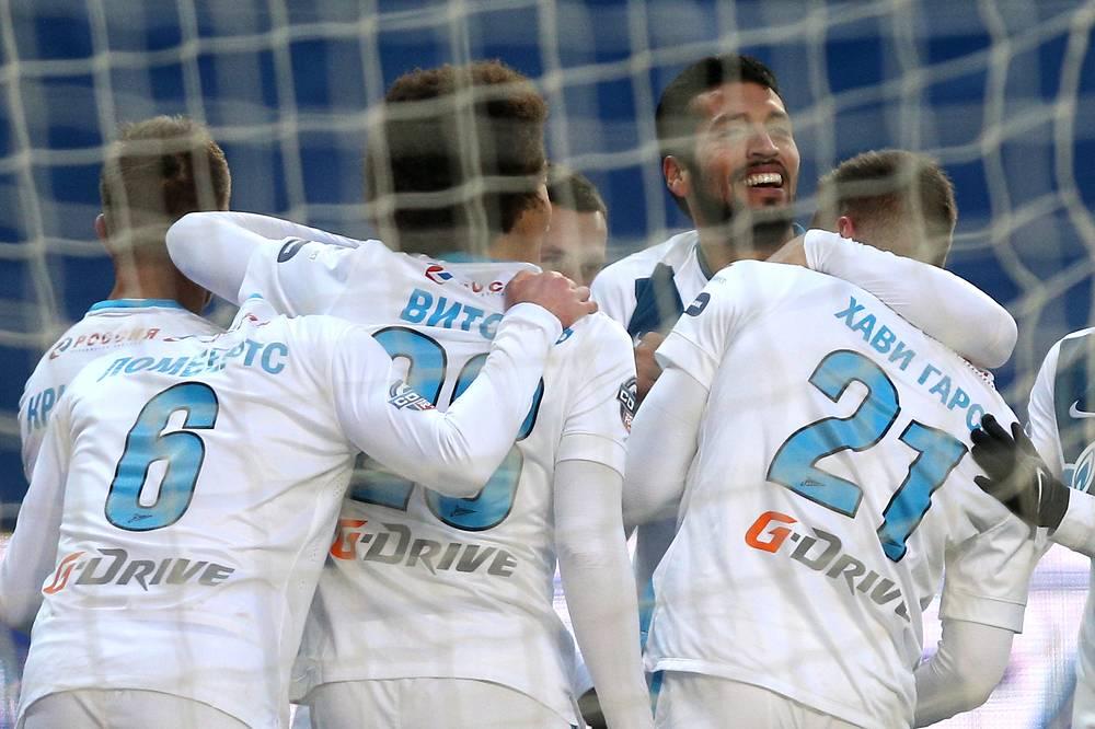 Гол испанского полузащитника Хави Гарсии так и остался единственным в матче