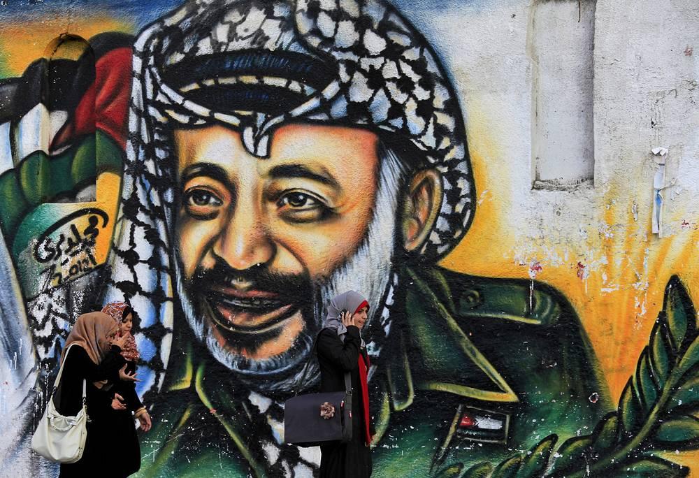 Сегодня более 74% палестинцев считают, что им не хватает Арафата