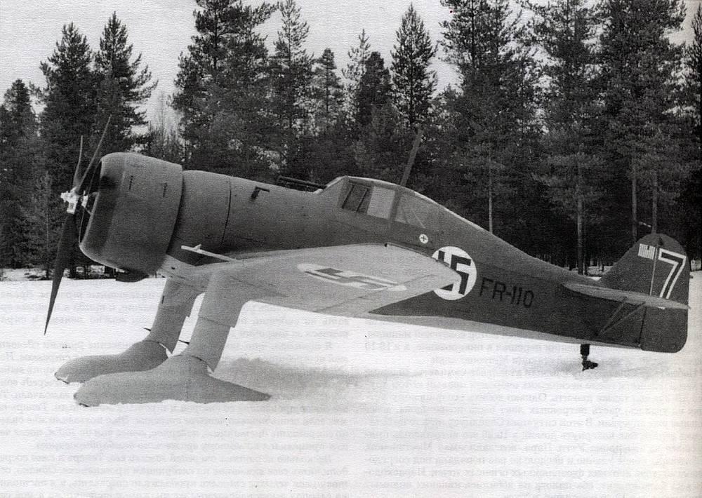 Истребитель Fokker D.XXI финских ВВС, 1939 год