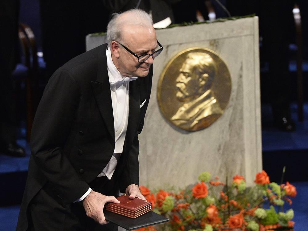 Нобелевским лауреатом по литературе стал французский писатель и сценарист Патрик Модиано