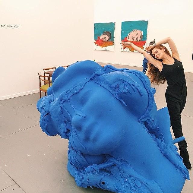 """Одна из главных в мире ярмарок современного искусства - лондонская ярмарка """"Фриз"""""""