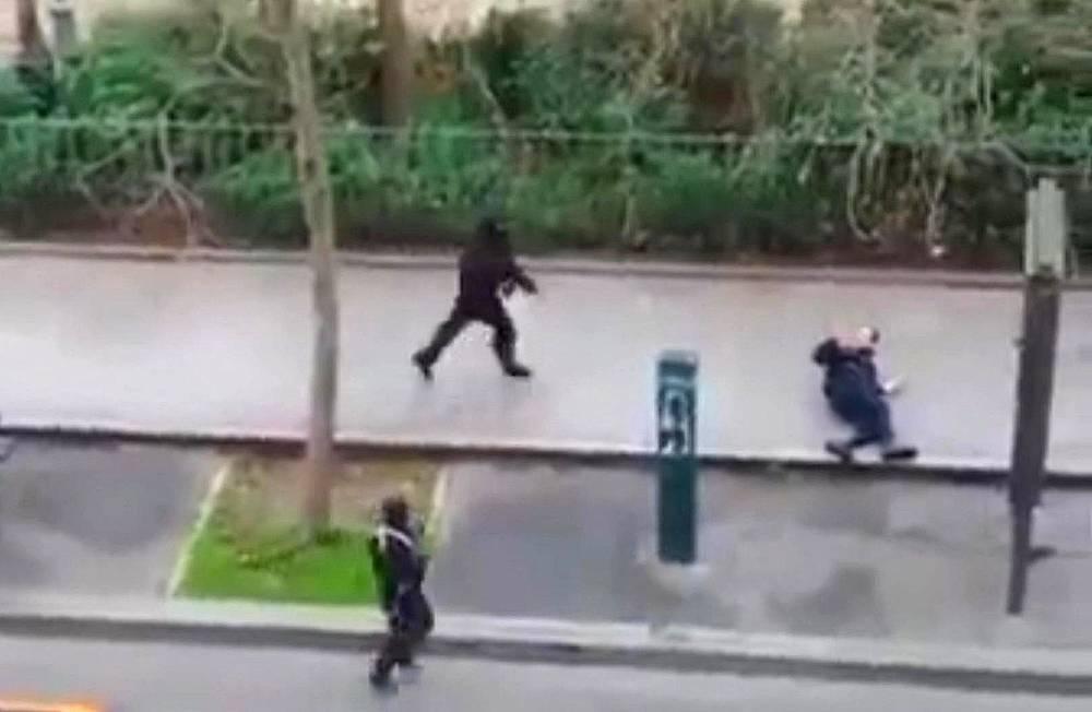 """Как сообщили очевидцы они кричали """"Аллах Акбар"""""""