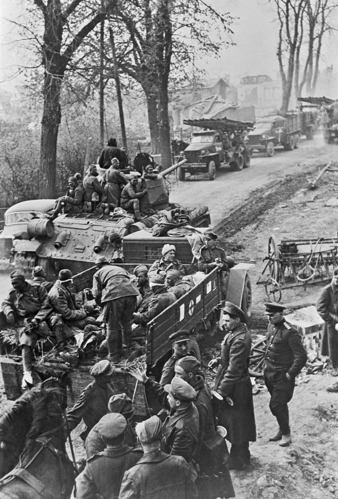 Фронтовая дорога, 1945 год