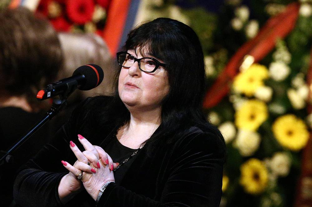 Оперная певица Маквала Касрашвили