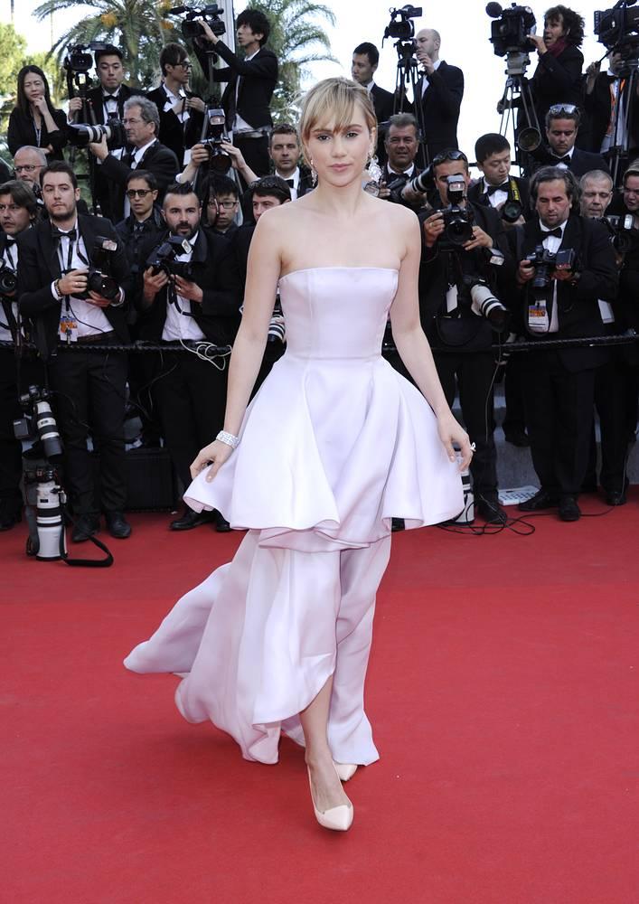 Сьюки Уотерхаус на 67-м Международном кинофестивале в Каннах, 2014 год