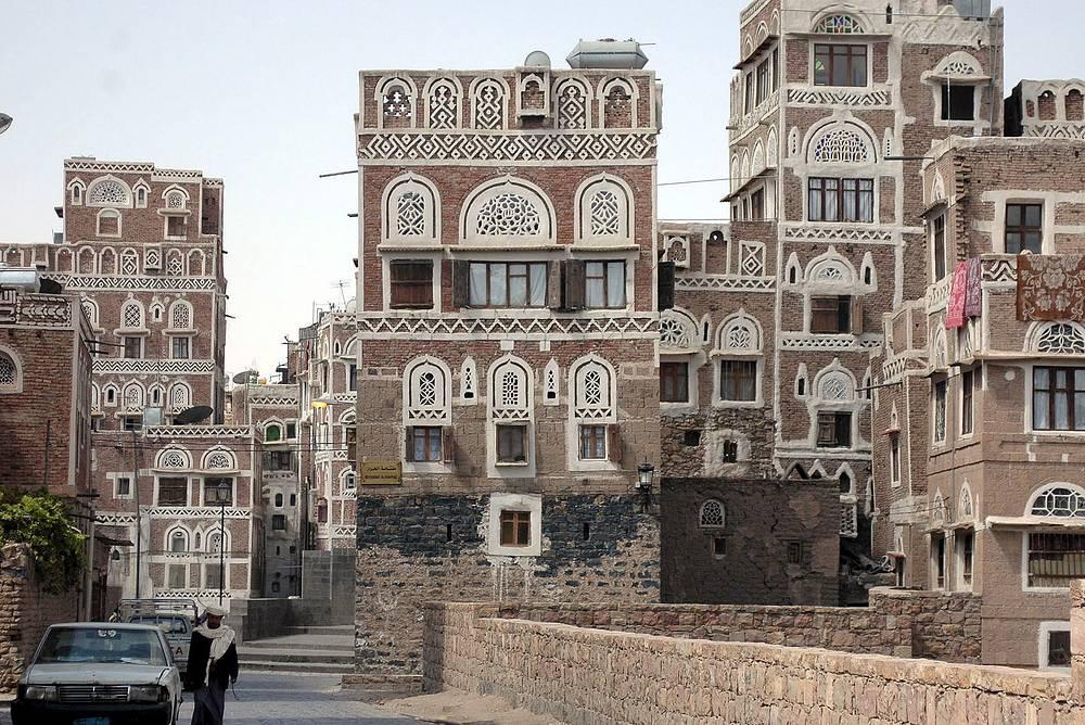 Старый город в Сане включен в список наследия ЮНЕСКО в 1986 году