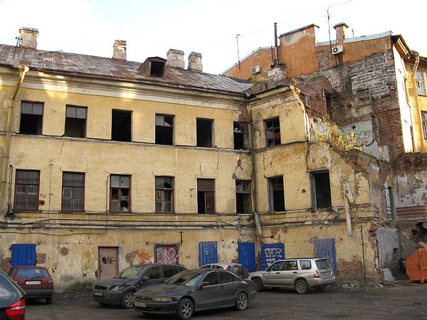 Состояние дома в 2009 году