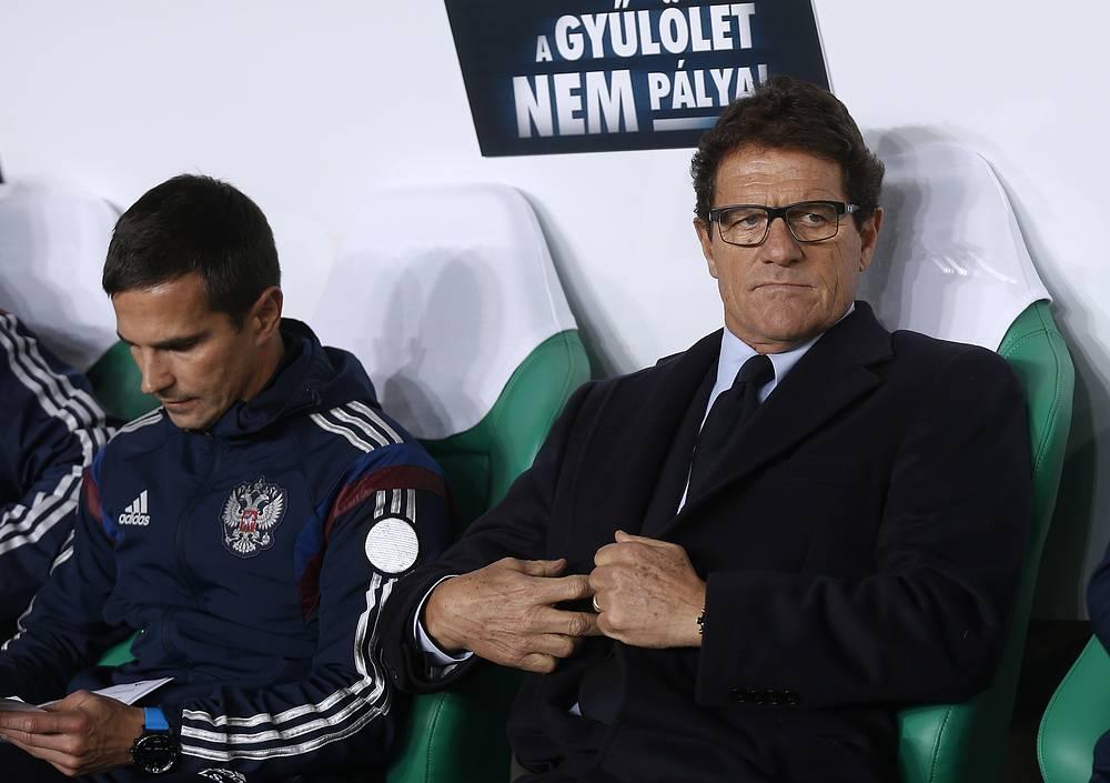 6 февраля Российский футбольный союз (РФС) погасил долг перед тренером национальной сборной России Фабио Капелло