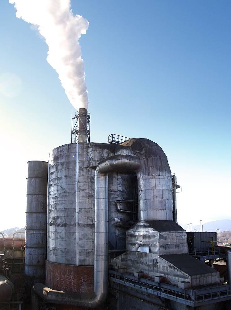 Комплекс по конверсии влажных серосодержащих газов на предприятии