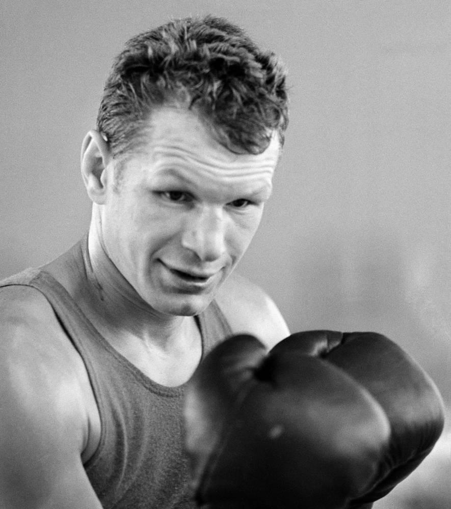 Двукратный олимпийский чемпион, двукратный чемпион Европы, 6-кратный чемпион СССР по боксу Борис Лагутин