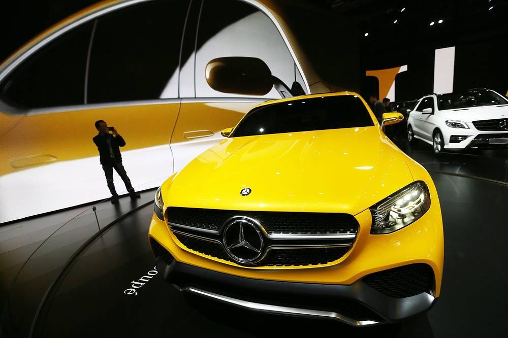 Концепт Mercedes-Benz Concept GLC Coupe