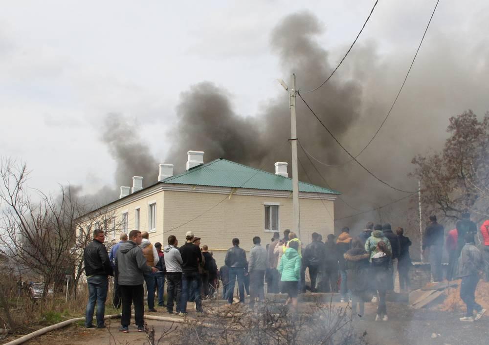 Пожар на складе магазина пиротехники, после которого начались взрывы