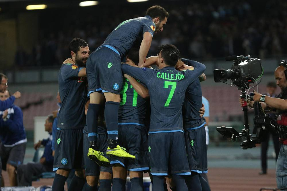 Неаполитанцы вышли вперед благодаря голу Давида Лопеса в начале второго тайма
