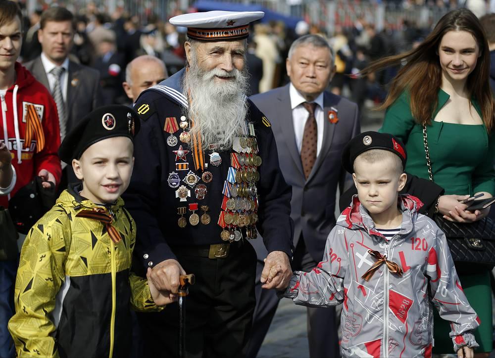 9 мая по всей России состоялись праздничные мероприятия в честь 70-летия Победы. В праздничных мероприятиях приняли участие более 8 млн человек