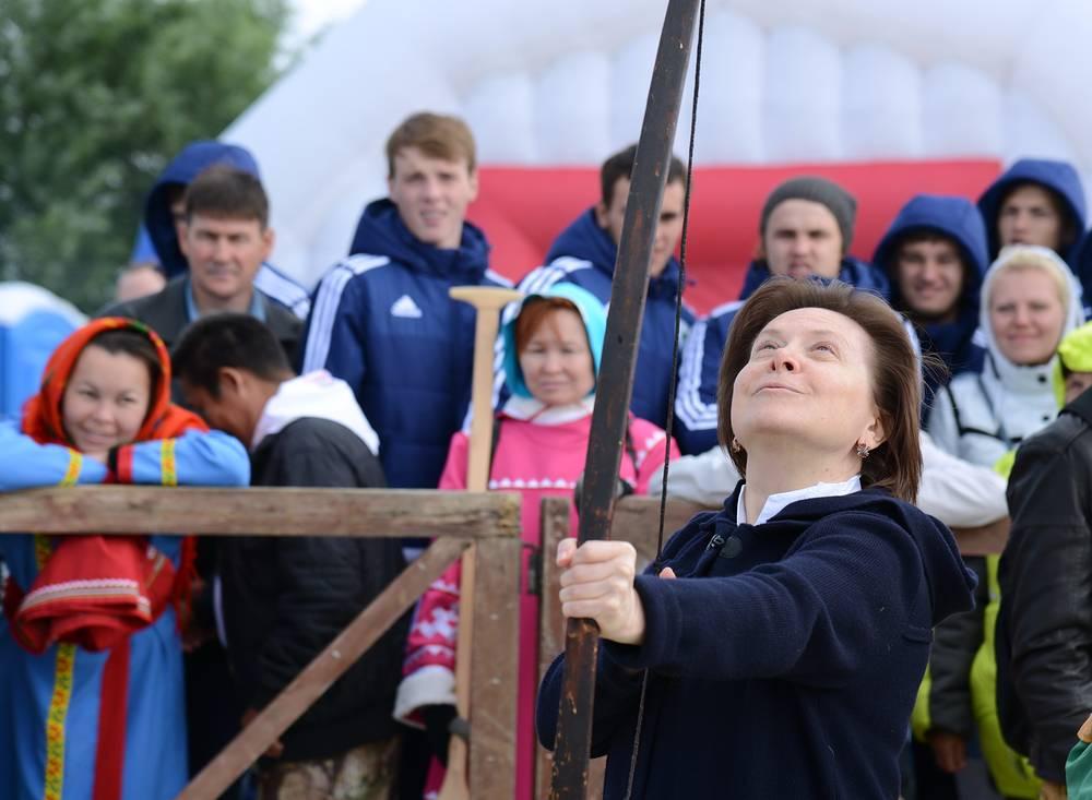 Губернатор ХМАО-Югры Наталья Комарова на празднике Вит Хон хатл
