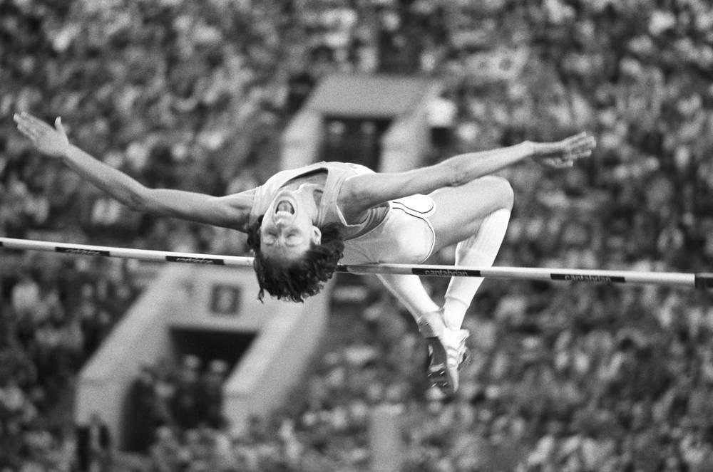 Олимпийская чемпионка по легкой атлетике Сара Симеони (Италия)