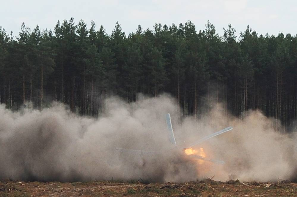 Один пилот потерпевшего крушение в Рязанской области вертолета Ми-28Н погиб, другой успел катапультироваться