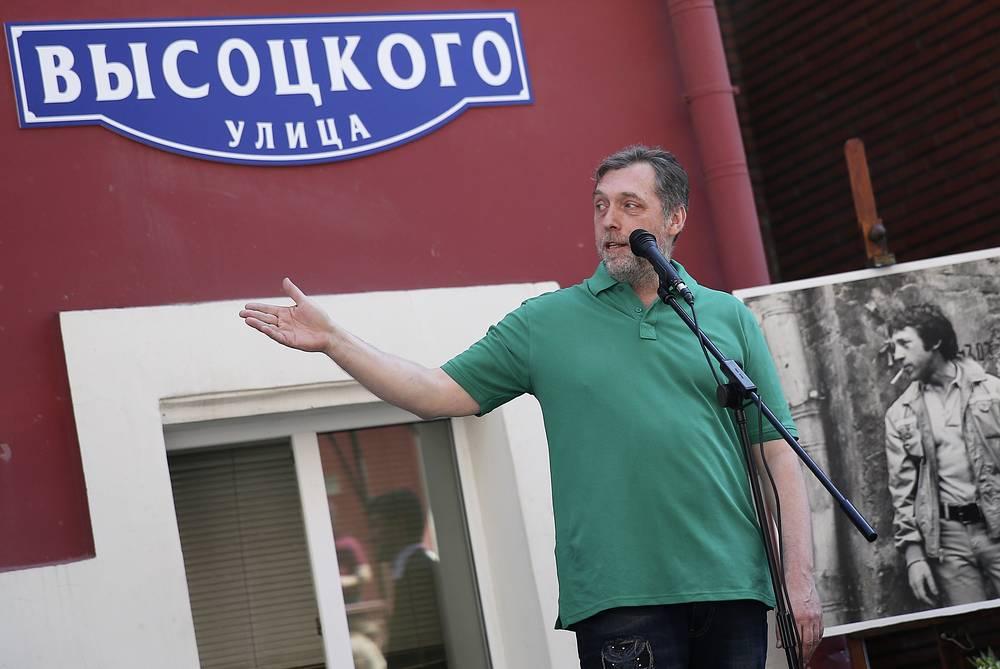 Директор благотворительного фонда В.С. Высоцкого Никита Высоцкий