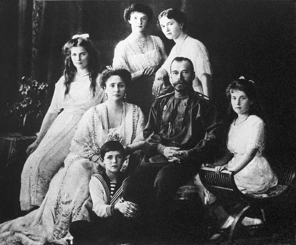 Царская семья Романовых, 1913 год