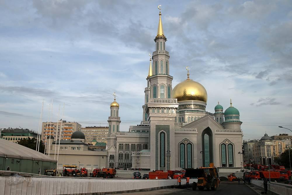 Открытие мечети при участии первых лиц нескольких государств состоится 23 сентября, накануне праздника Курбан-байрам