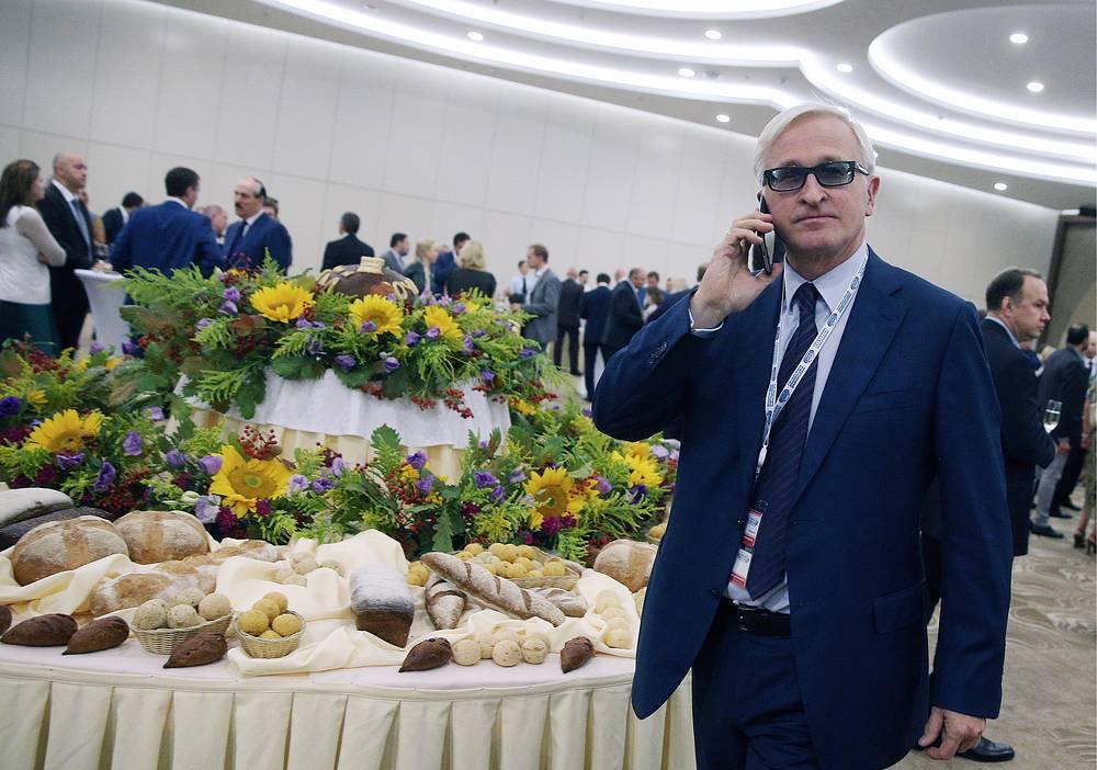 Президент Российского союза промышленников и предпринимателей Александр Шохин на приеме от имени премьер-министра РФ Дмитрия Медведева