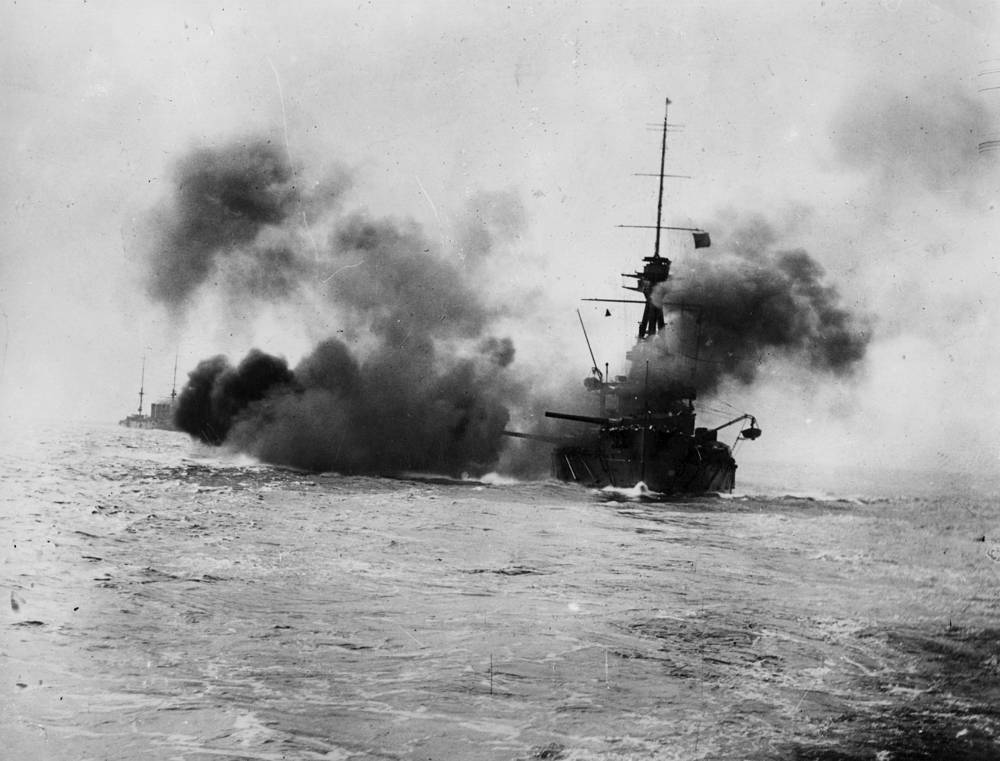 HMS Collingwood. 1914 год