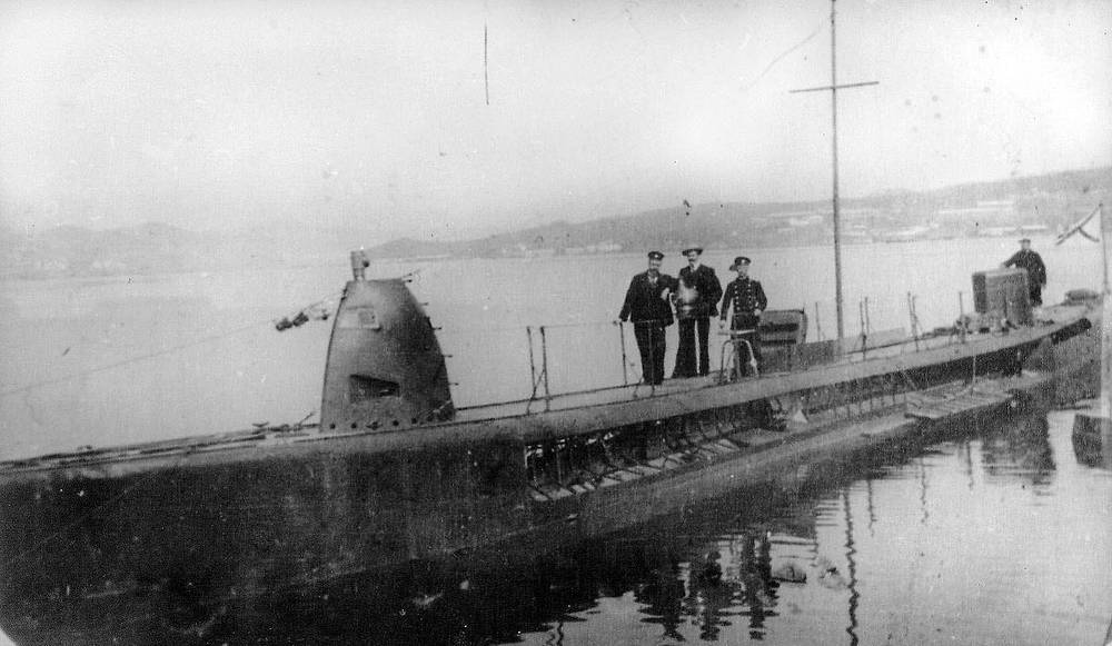 """Подводная лодка """"Касатка"""" на Дальнем Востоке"""