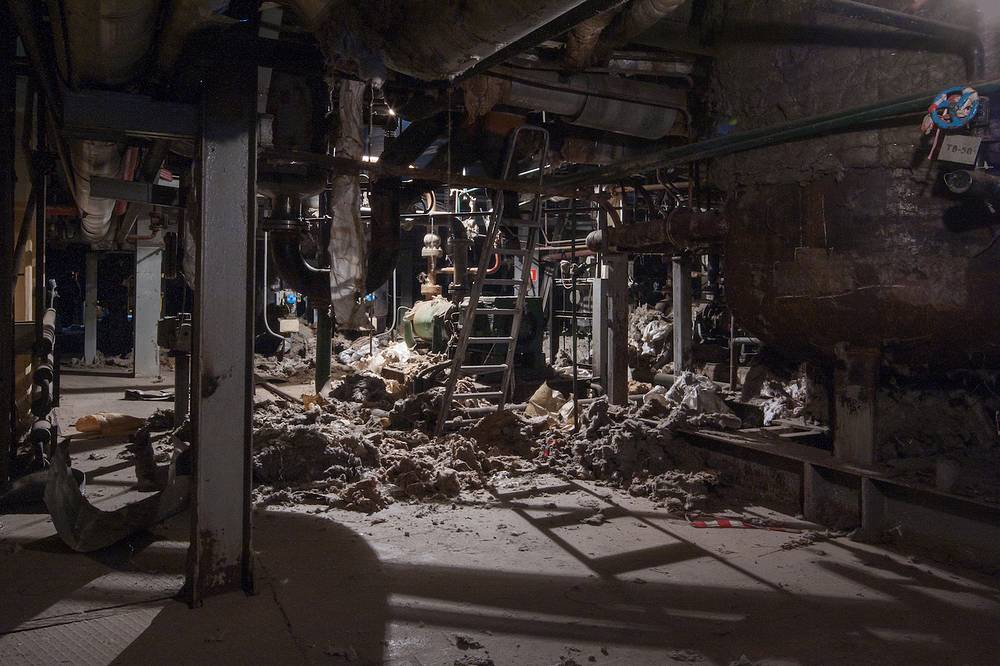 Реконструкция электростанции ГЭС-2