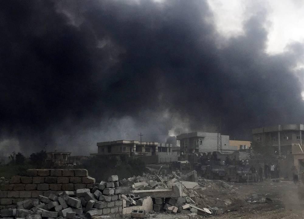 США отправят вИрак военных для подготовки операции поосвобождению Мосула
