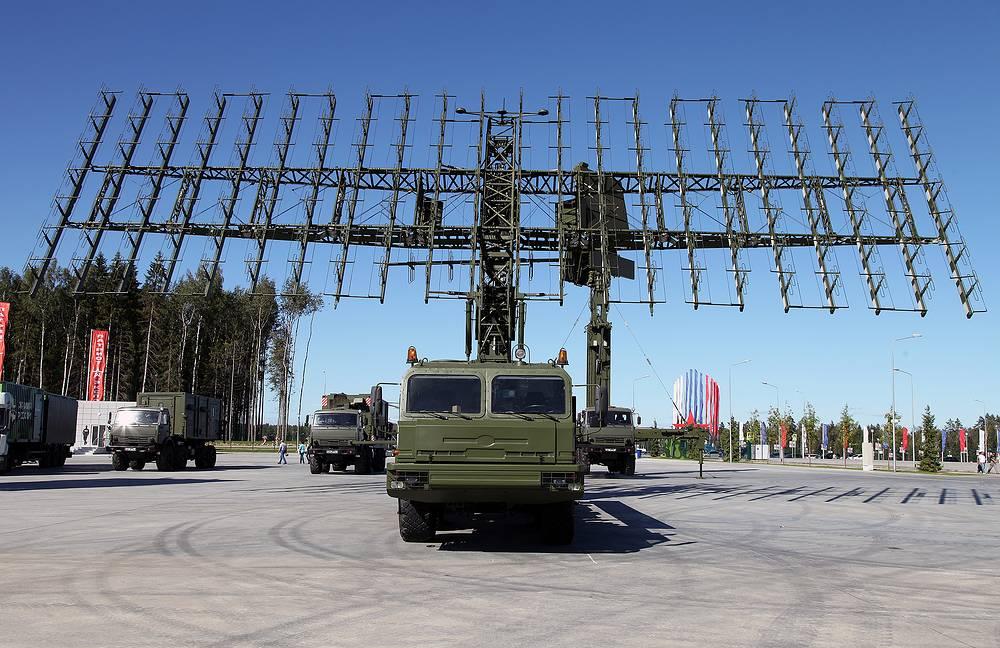 """Радиолокационный комплекс обнаружения аэродинамических и баллистических объектов на средних и больших высотах """"Небо-М"""""""