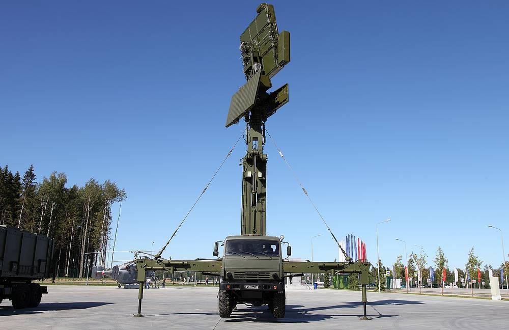 """Мобильная РЛС малых высот межвидового применения """"Подлет-К1"""""""