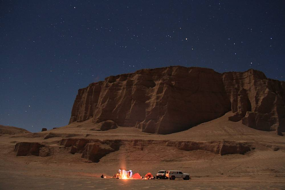 Иранская метеоритная экспедиция в пустыне Лут