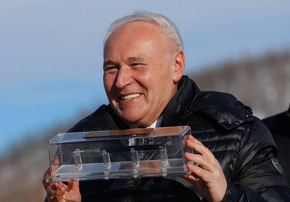 Губернатор Магаданской области Владимир Печеный