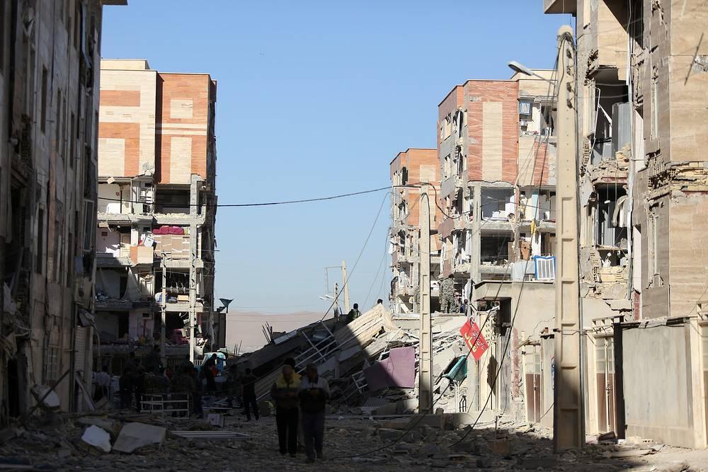 Сотни строений получили значительные повреждения или оказались полностью разрушены