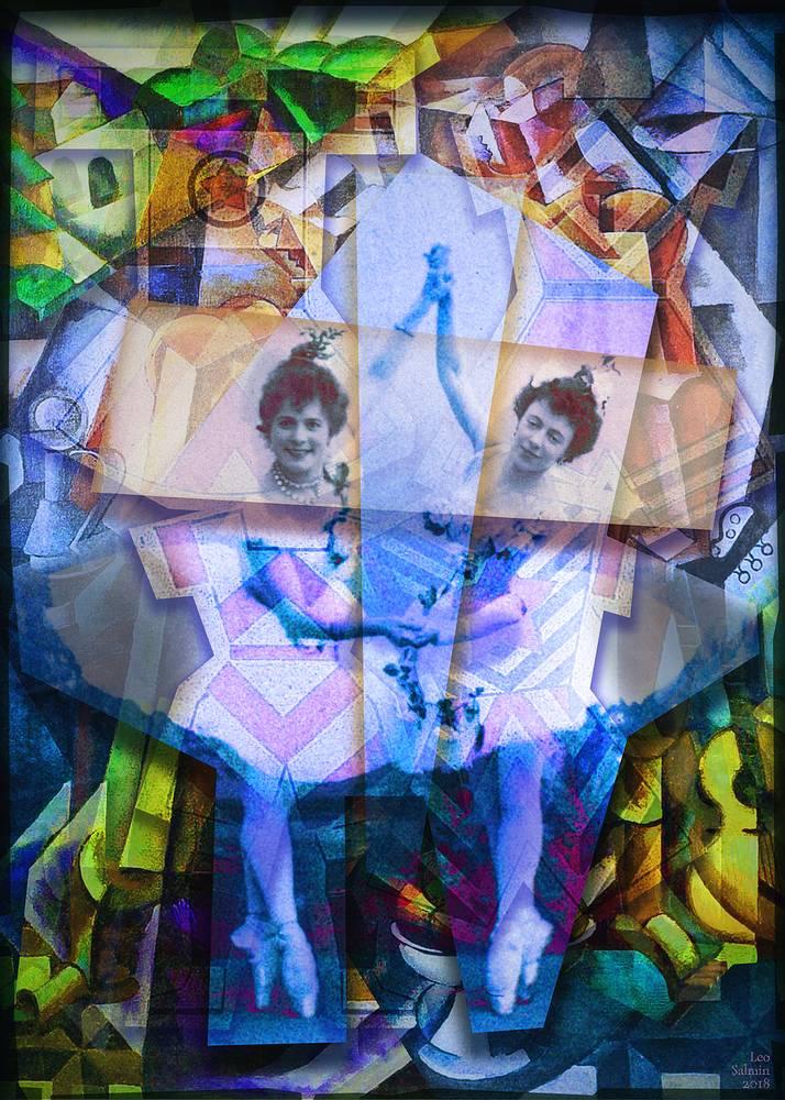 """Леонид Салмин. Серия """"Нами оставляются от старого мира…"""". Опус 6. Adobe Photoshop, фотобумага, фотопечать. 2018 год"""