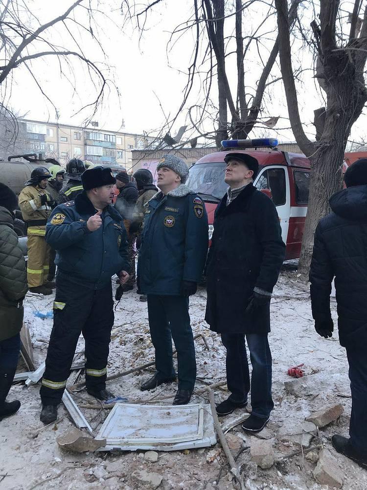 Губернатор Челябинской области Борис Дубровский (справа)