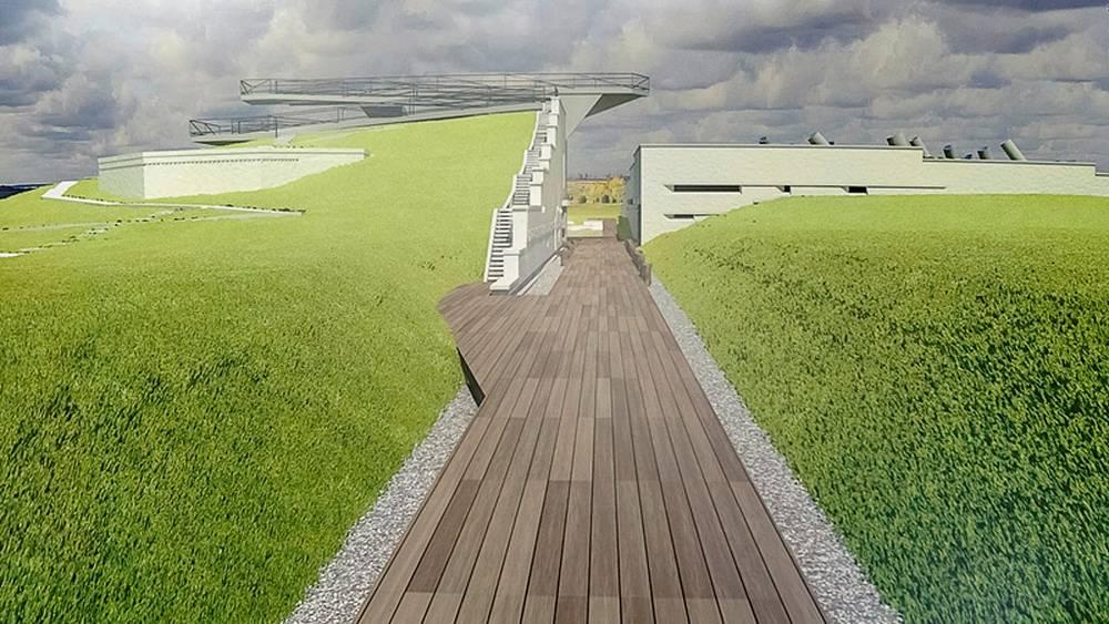 Эскиз проекта нового музейного комплекса