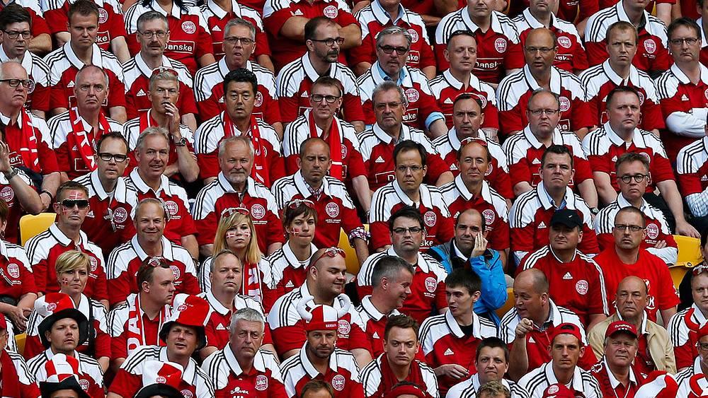 Болельщики из Дании