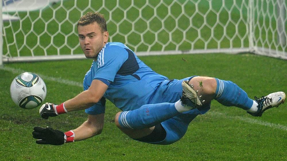 Товарищеский матч Россия-Сербия