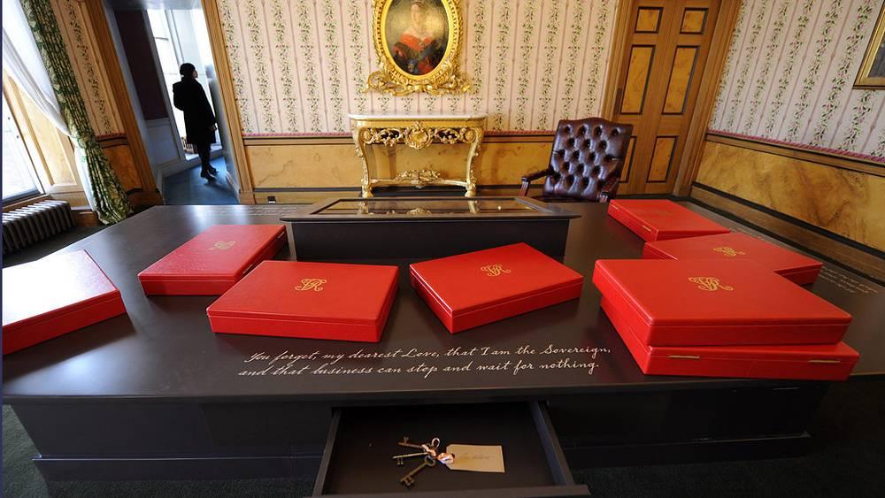 Рабочий кабинет королевы Виктории