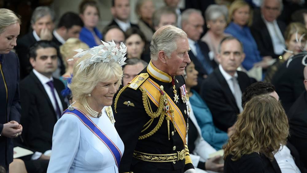 Британский принц Чарльз с супругой Камиллой