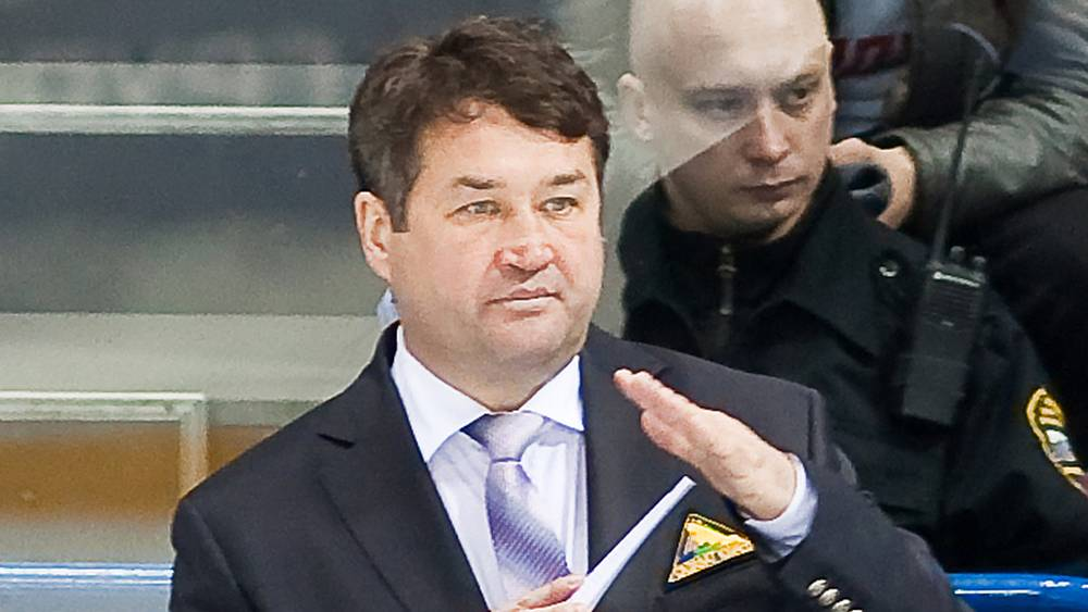 "Венер Сафин, главный тренер х/к ""Салават Юлаев"""