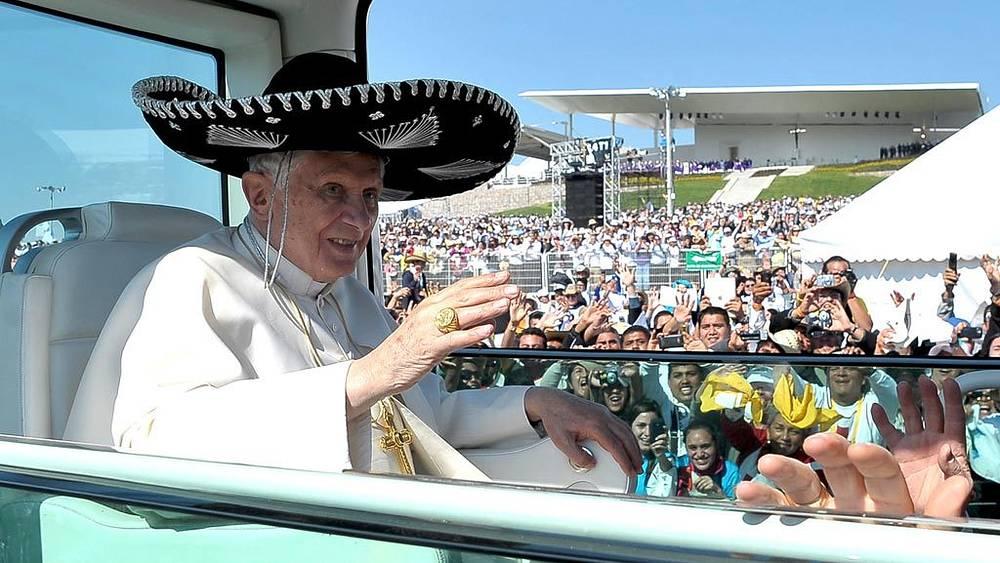 Визит Папы Римского Бенедикта XVI в Мексику