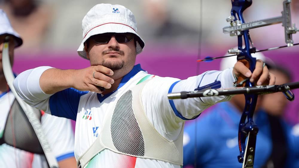 Команда Италии выиграла золотые медали в стрельбе из лука