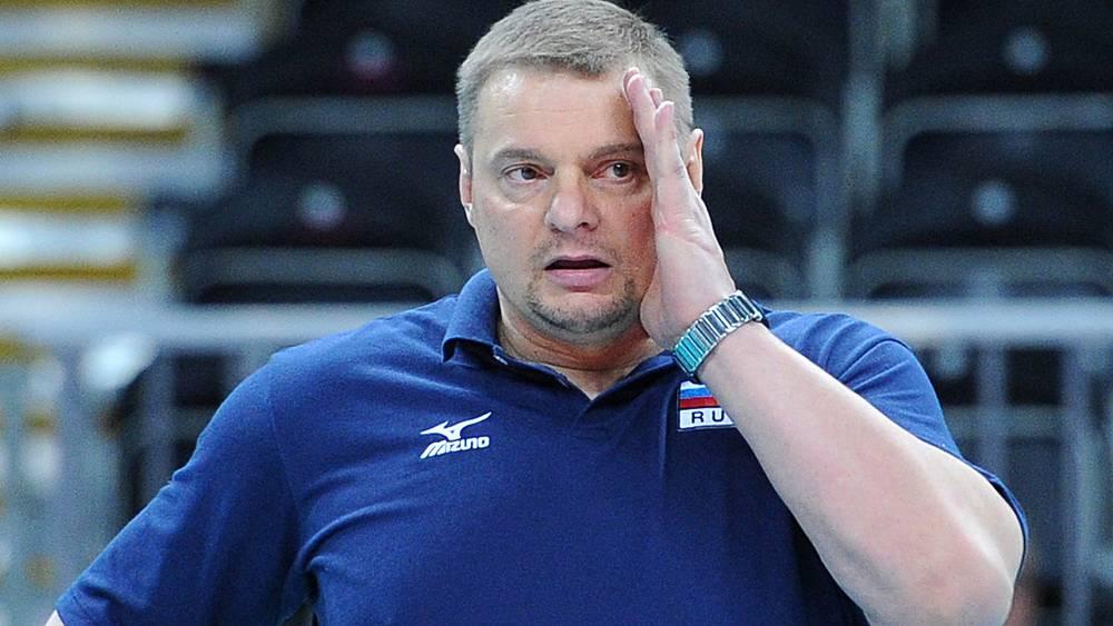 Главный тренер сборной России