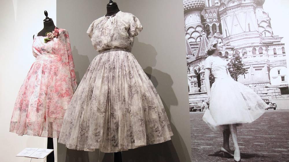 Платья 1950-х годов